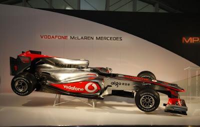 Foto F1 McLaren MP4