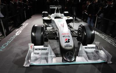 Mobil F1 Mercedes GP W01