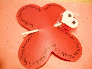 butterfly lollipop classroom valentine