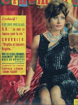 REVISTA CINEMONDE, AÑO 1960 Nº 1363, SOFIA LOREN