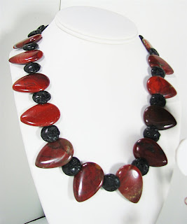 red picture jasper and lava rocks at http://laurastaley.etsy.com