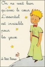"""""""O essencial é invisível aos olhos. Só se vê bem com o coração"""""""