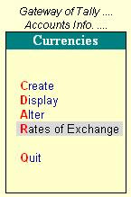 Master - Currency