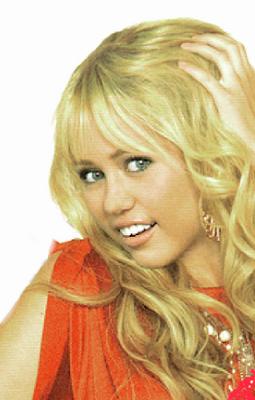 Hannah Montana  Photo Shoot Fake