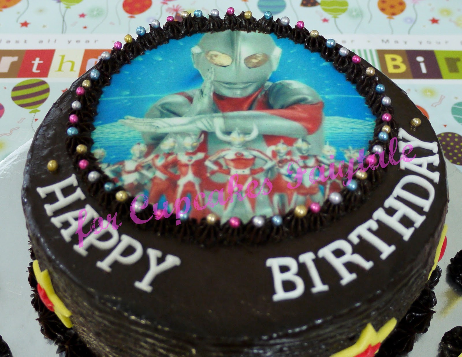 Cupcakes Fairytale RAPHAELS 3RH BIRTHDAY ULTRAMAN BIRTHDAY CAKE