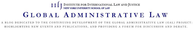 Global Administrative Law