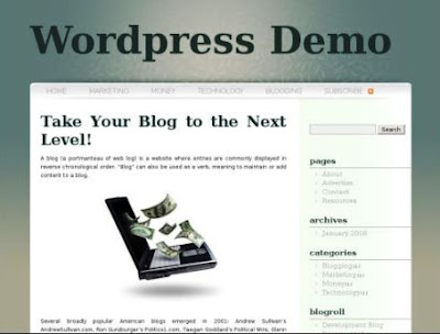 SubtleZen WordPress Theme mdro.blogspot.com
