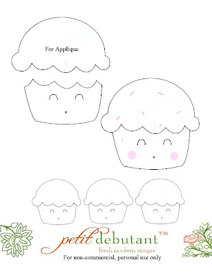 Cupcake Craze: Cupcake Applique Ideas - Wee Share