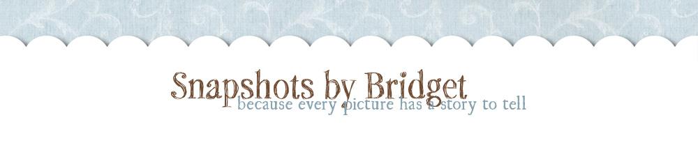 Snapshots by Bridget