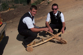 Missionaries with New Toy