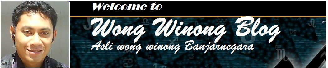 Wong Winong Blog
