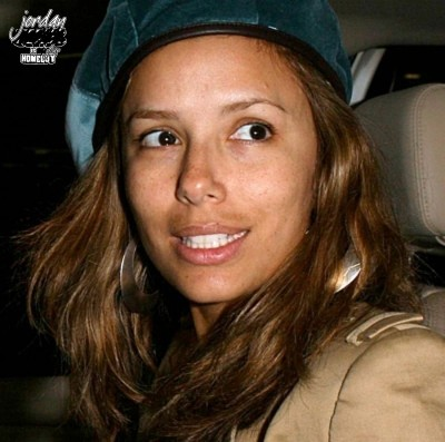Eva Longoria - beautiful with or without makeup in my opinion!
