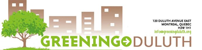 Greening Duluth