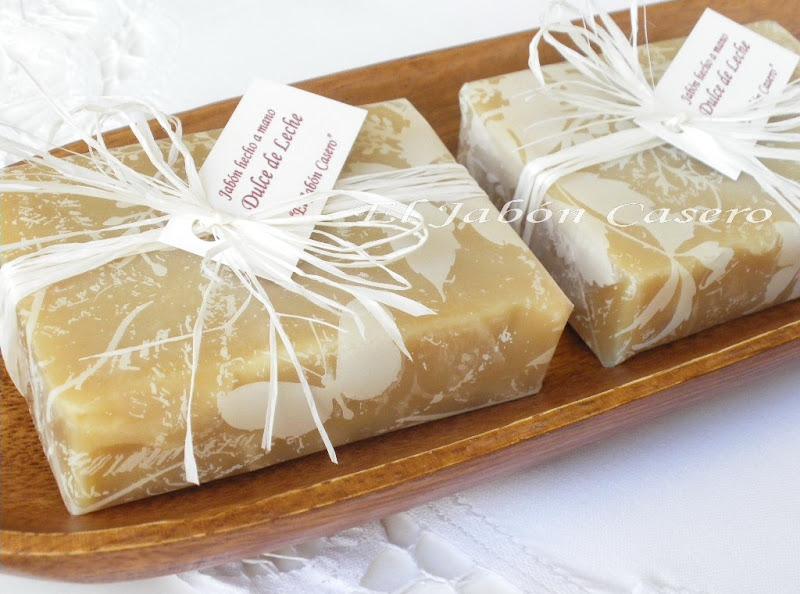 Jabones de Leche de Cabra y Miel para detalles de boda