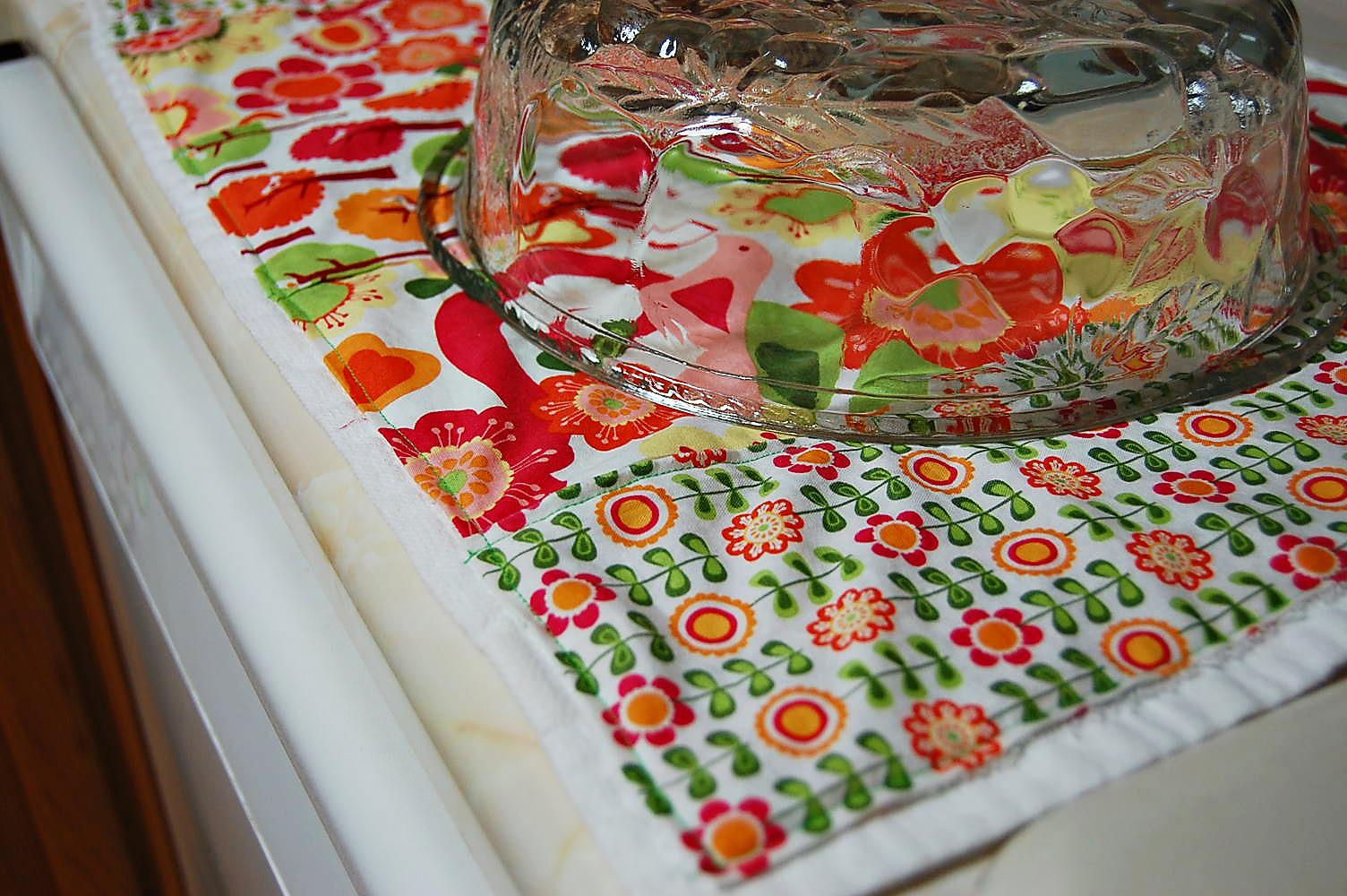 Kitchen Towel Craft Toads Treasures Kitchen Towel Mat Tutorial