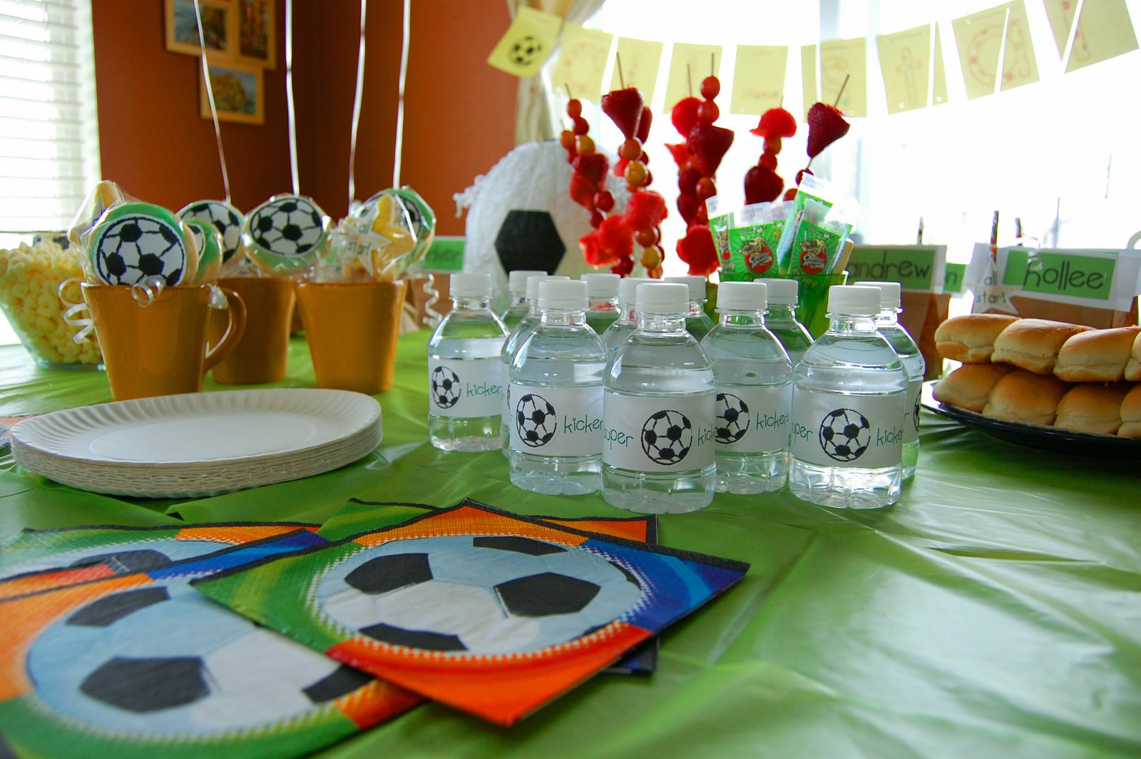 Toads Treasures Team Party A Super Soccer Birthday