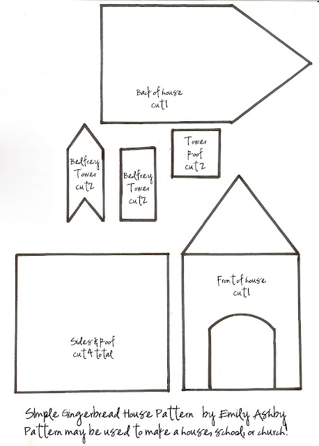 Agile image inside gingerbread house templates printable