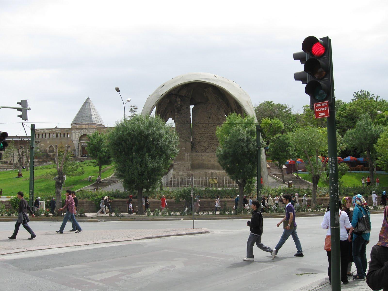selcuklununizi: Konya Kılıç Arslan Sarayı (Seyran Köşkü ...