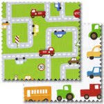 Traffic Jam patchwork fabric