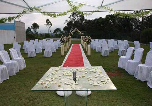 Cerimônia no Campo