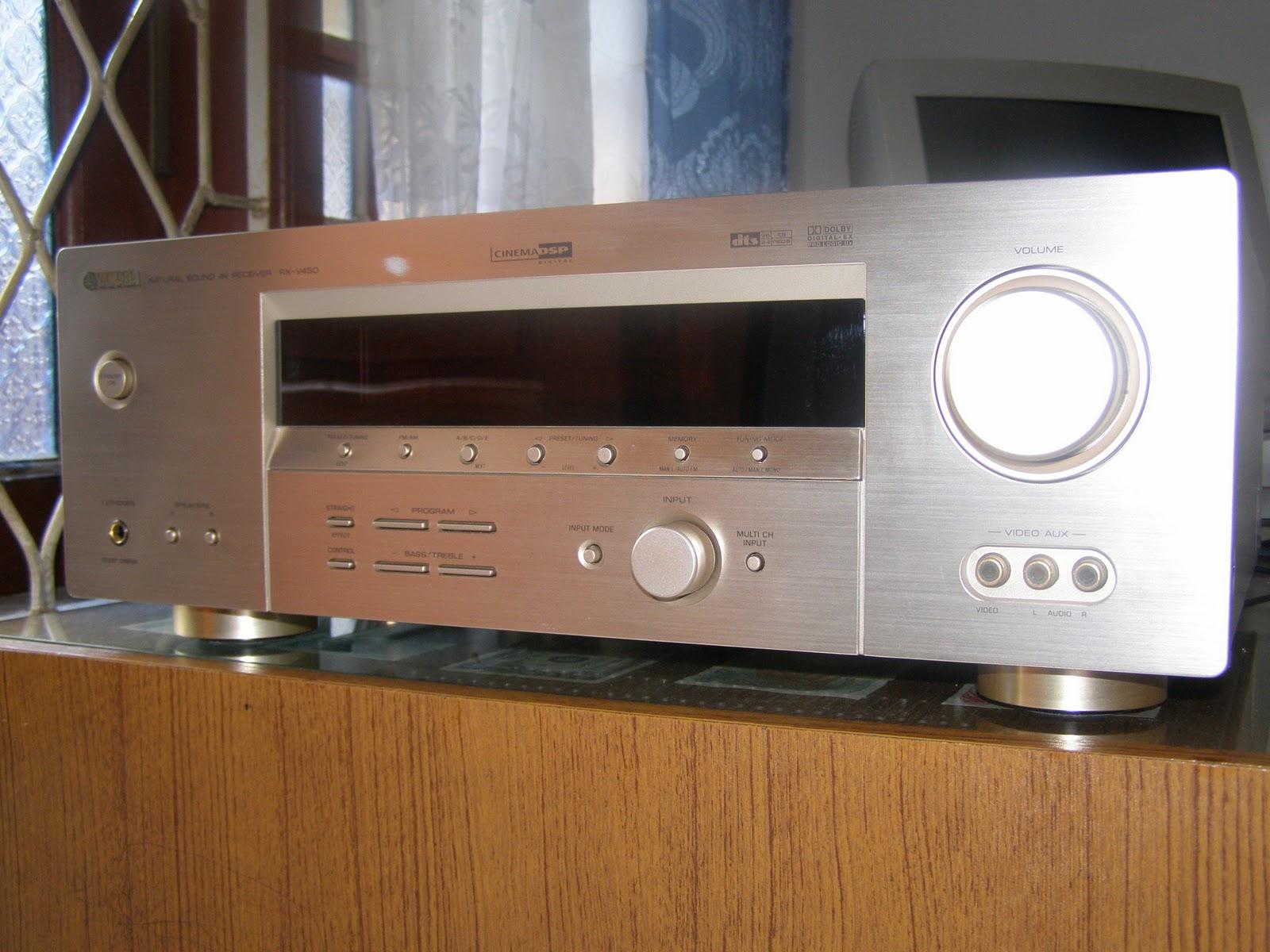 Lentera akustika yamaha rx v450 av receiver for Yamaha rx v450 av receiver price