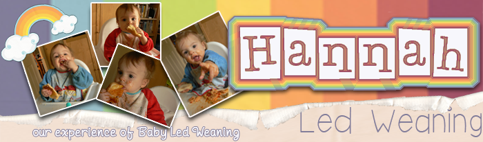 Hannah Led Weaning