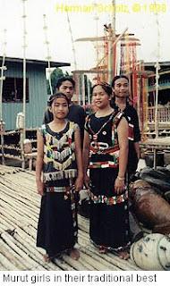 Adat Perkahwinan kaum Murut di Sabah