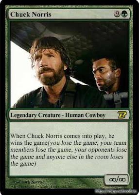 amokat: MTG Magic the Gathering -> Chuck Norris!!!
