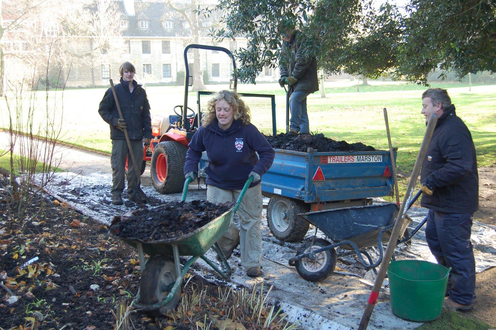 Worcester College Gardeners November 2009