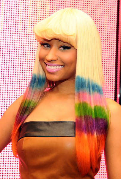 nicki minaj fake teeth. nicki minaj pink friday