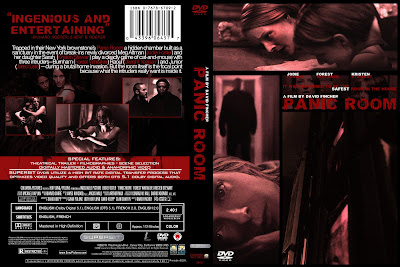 Design practice custom dvd cover panic room 2002 for Custom panic room
