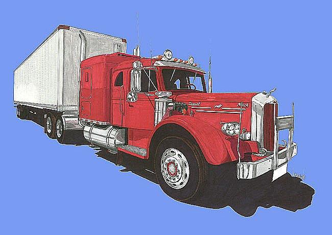 1950 Mack Series L