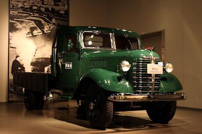 トヨタ博物館,薪トラック