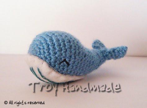 Tutorial Amigurumi Ballena : Troy Handmade: Amigurumi Ballena :)