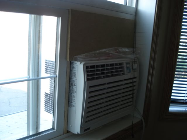 how to create a vertical ac window