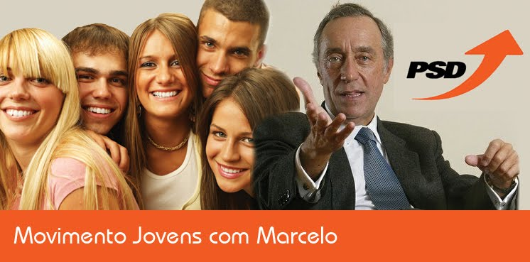 Jovens com Marcelo