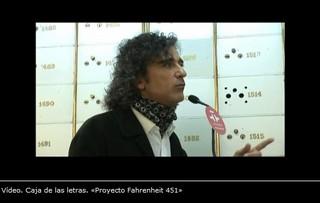 Caja de las Letras. «Proyecto Fahrenheit 451»