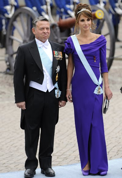 Crown Princess of Sweden Wedding  Royal Fashion Hits  amp  Misses by Nick    Queen Rania Al Abdullah Husband