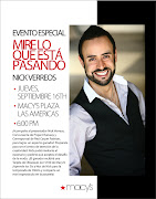 Yes, Chicos and Chicas, I am coming to San Juan Puerto Rico!