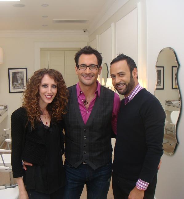 A Fashion Team: Jennifer Rade, Lawrence Zarian, Nick Verreos, Dry Bar  Studio City
