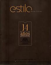 """Desde Setiembre 2010 """"Mi Vida Conmigo"""" en la seccion Humor de la revista Estilo Mariscal"""