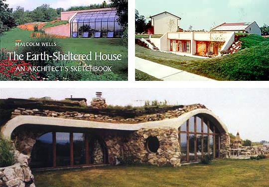 Underground Homes Earth Sheltered Building