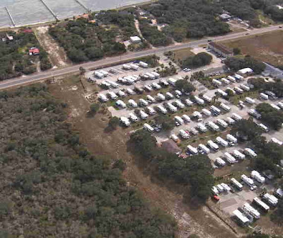 Photo of Rockport 35 RV Park from the air