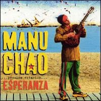 Capa do CD (Esperanza) de Manu Chao