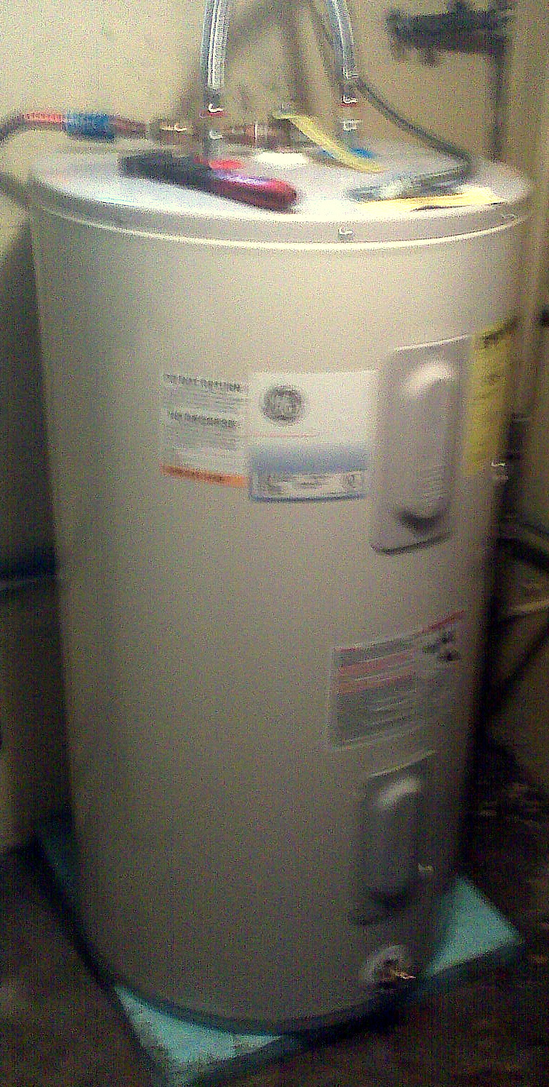 Rewinn in and out of hot water for Plastic hot water tank