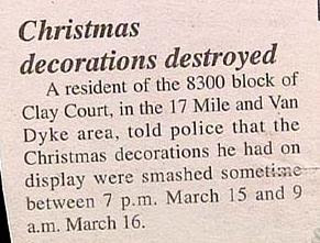 photo of funny story about christmas decorations smashed in march by ctv
