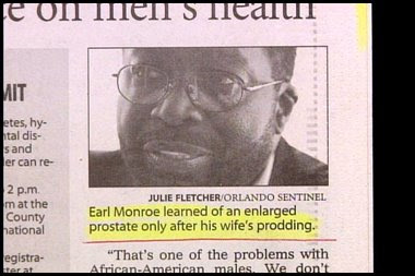 funny real people comments about prodding wife and prostate from earl monroe