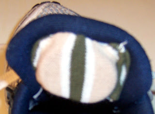 The holding sock is just a pouch for holding the Nike chip.