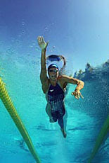 Natalie Coughlin looks forward to winning.