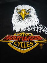 Vintage Harley Davidson Cycles 1987